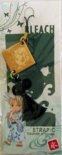 Bleach Phone Strap Wooden Hitsugaya