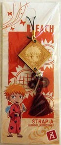 Bleach Phone Strap Wooden Ichigo