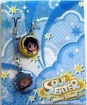 Soul Eater Screen Wiper Phone Strap Black Star, Tsubaki