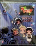 Hetalia Axis Powers Screen Wiper Phone Straps Japan and Germany