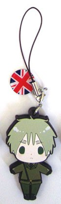 Hetalia Axis Powers PVC Phone Strap England
