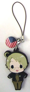 Hetalia Axis Powers PVC Phone Strap America