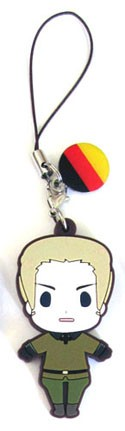 Hetalia Axis Powers PVC Phone Strap Germany