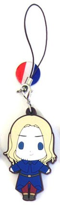 Hetalia Axis Powers PVC Phone Strap France