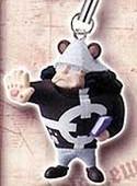 One Piece Shichibukai Mascot Phone Strap Barthalamew Mihawk