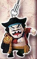 One Piece Shichibukai Mascot Phone Strap Blackbeard