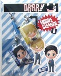 Durarara!! Screen Wiper Phone Strap Set Masaomi, Mikado