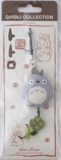 My Neighbor Totoro Grey Totoro Flat Plush Phone Strap