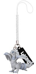 Pokemon Black and White 3D Reshiram Phone Strap