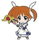 Magical Girl Lyrical Nanoha Phone Strap Nanoha Transformed