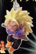 Dragonball Z Super Saiyan 3 Trunks Mascot Phone Strap