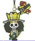 One Piece New World Rubber Phone Strap Brook