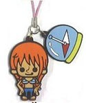 One Piece New World Rubber Phone Strap Nami