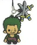 One Piece New World Rubber Phone Strap Zoro