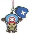 One Piece New World Rubber Phone Strap Chopper