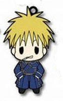 Fullmetal Alchemist Brotherhood Rubber Phone Strap Havoc
