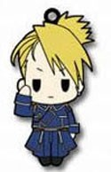 Fullmetal Alchemist Brotherhood Rubber Phone Strap Riza