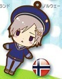 Hetalia Axis Powers Rubber Phone Strap Norway
