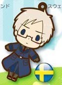 Hetalia Axis Powers Rubber Phone Strap Sweden