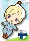 Hetalia Axis Powers Rubber Phone Strap Finland