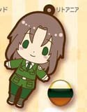 Hetalia Axis Powers Rubber Phone Strap Lithuania