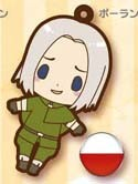 Hetalia Axis Powers Rubber Phone Strap Poland