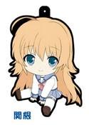 Angel Beats Rubber Phone Strap Shiori Sekine
