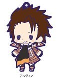 Tales of Friends Rubber Phone Strap Alvin