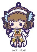 Tales of Friends Rubber Phone Strap Leia Rolando