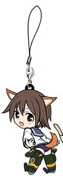 Strike Witches Yoshika Miyafuji Rubber Phone Strap