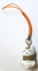 Natsume's Book of Friends Nyanko Sensei Tied Mascot Phone Strap