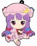 Touhou Project Patchouli Petanko Vol. 2 Rubber Phone Strap