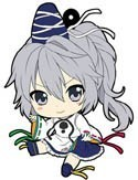 Touhou Project Mononobe no Futo Petanko Vol. 3  Rubber Phone Strap