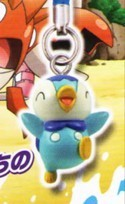 Pokemon Piplup Gashapon Phone Strap