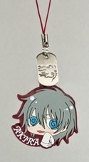 Togainu no Chi Akira w/ Cloth Rubber Phone Strap