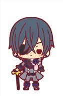Black Butler Book of Circus Ciel Rubber Cell Phone Strap
