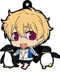 Free! - Iwatobi Swim Club Nagisa with Penguins Rubber Phone Strap
