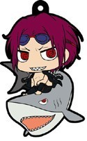 Free! - Iwatobi Swim Club Rin on Shark Rubber Phone Strap