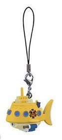 One Piece Trafalgar Law's Submarine Prize Mascot Phone Strap