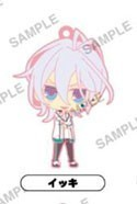 Amnesia World Rubber Phone Strap Ikki Jersey Ver.