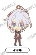 Amnesia World Rubber Phone Strap Ikki Uniform Ver.