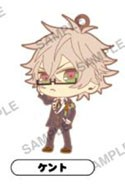 Amnesia World Rubber Phone Strap Kent Uniform Ver.