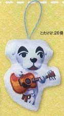 Animal Crossing 3'' K.K. Slider Plush Pillow Phone Strap