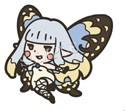 Bravely Default Airy Rubber Phone Strap