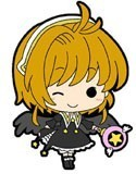 Card Captor Sakura Sakura w/ Black Dress Mini Rubber Strap