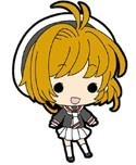 Card Captor Sakura Sakura w/ School Uniform Mini Rubber Strap
