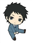 Durarara!! 2 Mikado Rubber Phone Strap