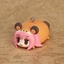 Vocaloid Luka Tanuki Animal Charm Mascot Phone Strap