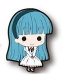 Magic Knights Rayearth Umi White Dress Rubber Phone Strap Mini Vol. 2