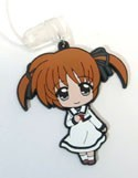 Magical Girl Lyrical Nanoha Casual Clothes Rubber Phone Strap